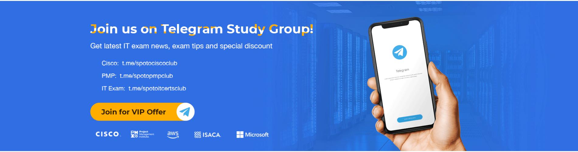 Join us on Telegram Study Group!