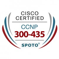 Cisco CCNP Enterprise 300-435 ENAUTO Exam Dumps