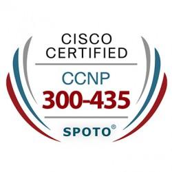 Cisco CCNP Enterprise 300-435 ENAUTO Exam Dumps