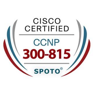 Cisco CCNP Collaboration 300-815 CLACCM Exam Dumps