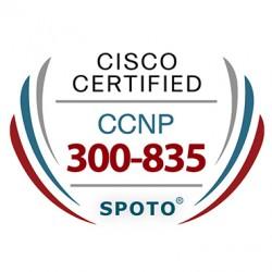 Cisco CCNP Collaboration 300-835 CLAUTO Exam Dumps