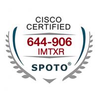 Cisco 644-906 IMTXR Exam Dumps