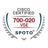 Cisco 700-020 VSE Exam Dumps