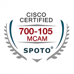 Cisco 700-105 MCAM Exam Dumps