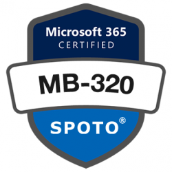 Microsoft Certified Exam MB-320: Microsoft Dynamics 365 Supply Chain Management, Manufacturing