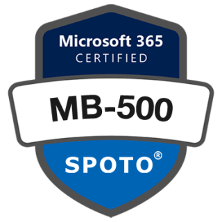 Microsoft Certified Exam MB-500: Microsoft Dynamics 365: Finance and Operations Apps Developer